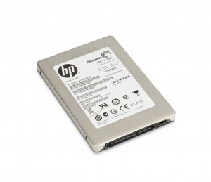 Seagate 600 Pro SSD Card, 3-qtr view